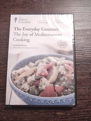 Great Courses THE EVERYDAY GOURMET Joy Of Mediterranean Cooking 2 DVD Set NEW