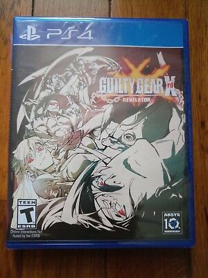 Guilty Gear Xrd: Revelator (Sony PlayStation 4, 2016) Brand New