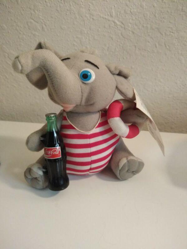 Coca Cola Elephant Plush Play By Play
