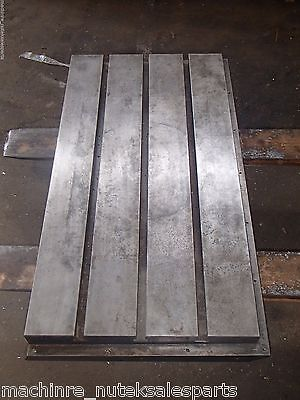 37.5 X 20.25 X 6.5 Steel Weld T-slotted Table Cast Iron Layout Plate Jig