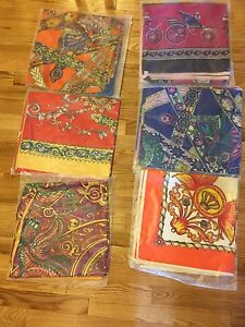 Vietnamese scarfs, long dresses and hand made pictures