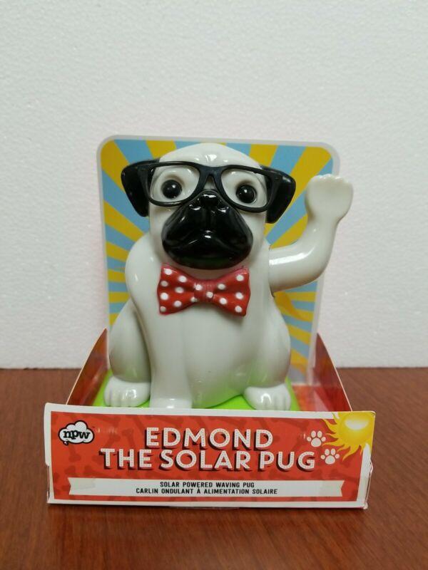 Edmond The Solar Pug WAVING