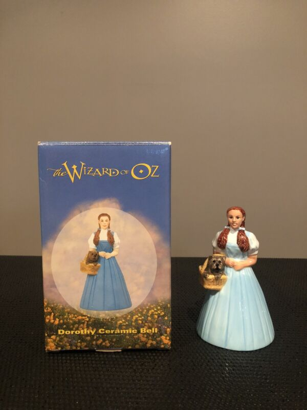 The Wizard of Oz Dorothy Ceramic Bell 1998 Warner Brothers