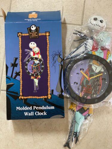 Nightmare Before Christmas Molded Pendulum Clock