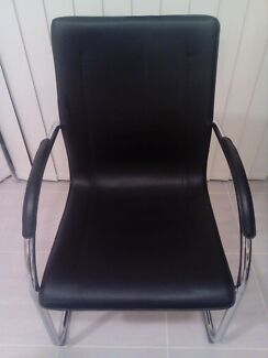 Reception Leather Chair Craigieburn Hume Area Preview