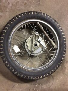 Rear Wheel Complete Assembly