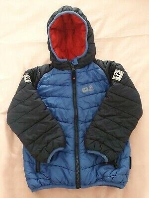 Boys Jack Wolfskin Coat Size 116cm (Age 5-6)