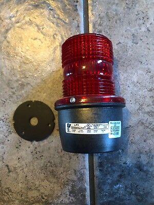 Federal Signal Corporation Lp3sl-120r Red Led Light Nema 4x