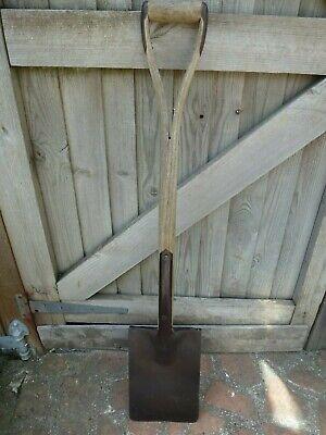 Vintage Garden spade Y handle