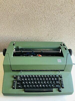 Ibm Selectric Ii Correcting Electric Typewriter Vintage Green