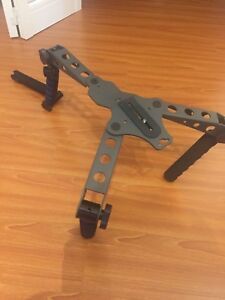 Dslr video camera rig. Adjustable to your body!