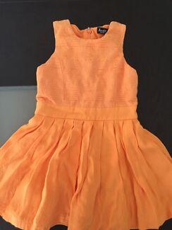 Bardot Junior Orange toddler dress - Size 3