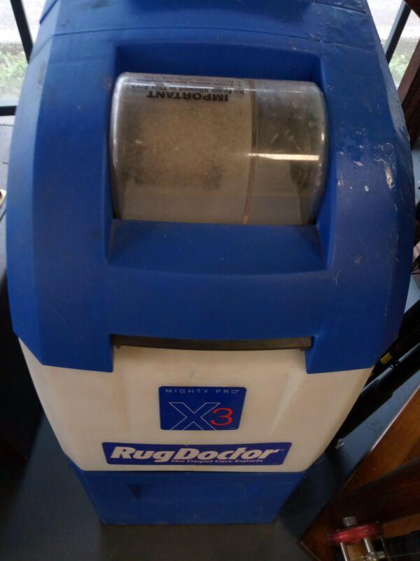 Rug doctor x3 pro carpet cleaner express