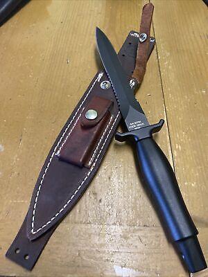 2019 GERBER MARK II FIXED BLADE COMBAT KNIFE W/ John Carson Custom Sheath