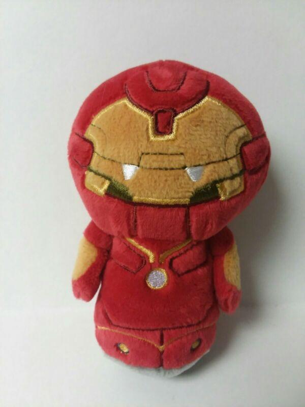 """Hallmark ITTY BITTYS 5"""" Marvel HULKBUSTER IRON MAN Plush Toy Stocking Stuffer NT"""