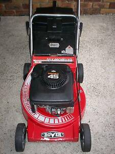 BRIGGS STRATTON 4 STROKE,20 in.ROVER SERVICED,LAWN MOWER.CATCHER Runcorn Brisbane South West Preview