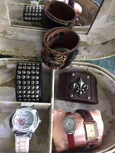 Cuff Bracelets and Watches
