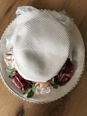 Vintage Annie Gough Felt Hat