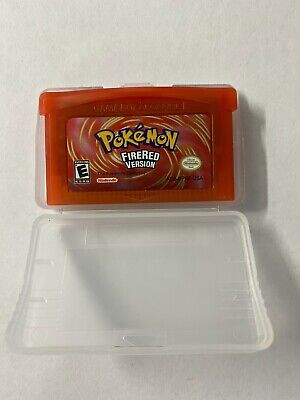 Pokemon FireRed Version GBA Gameboy Advance Fire Red USA SHIPPING