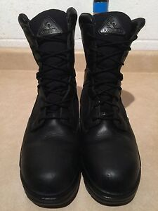 Men's Rocky Waterproof Leather Boots Size 9  London Ontario image 3