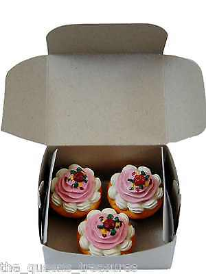 "3 CUPCAKE MUFFINS & BOX for 18""  American Girl Doll Kitchen Food & Accessories on Rummage"