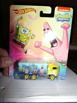 Hot wheels 1/64 sponge bob Highway hauler NIB
