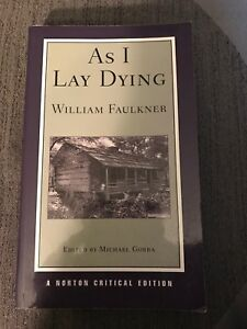 as i lay dying norton critical edition