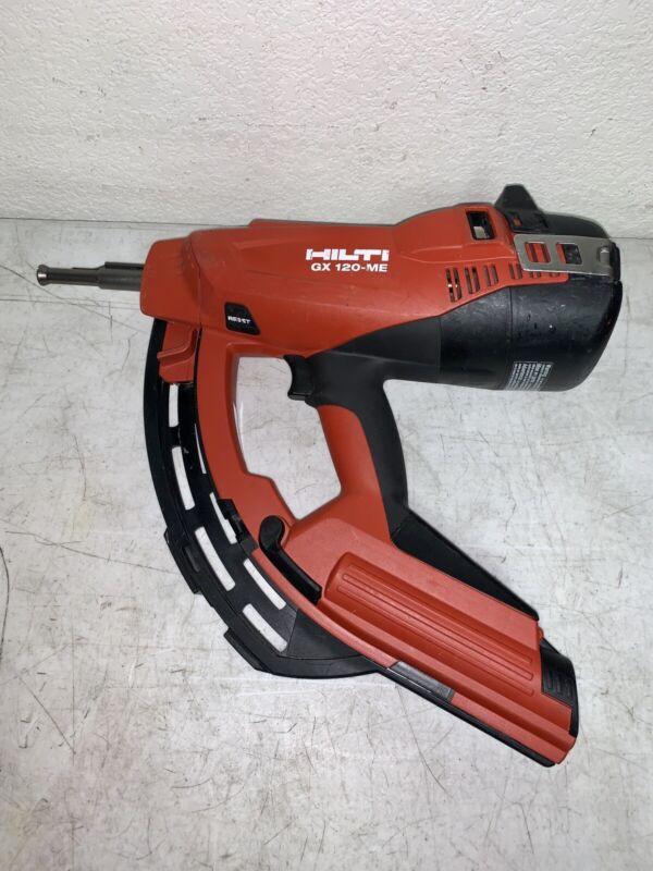Hilti Gx 120-Me Fully Automatic Gas-Actuated Fastening Tool Nailer Nail Gun