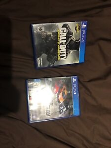 Ps4 games 60$ obo for bought