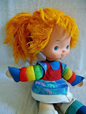 Doll, RAINBOW BRITE Vintage 1983 Hallmark Rainbow Brite Doll 19 inches