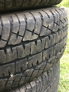 LT265/70R18 Michelin LTX A/T 2 set of 4
