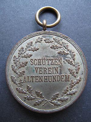alter Schützenorden Medaille Schützenverein Altenhundem Kreis Olpe