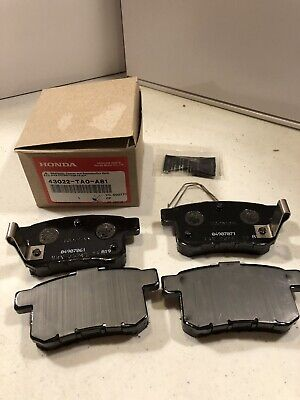 2010- 2017 Honda ACCORD Genuine Factory Rear Brake Pad Set (43022-TA0-A81)