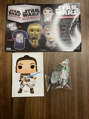 Star Wars Smugglers Bounty The Rise Of Skywalker Funko Pop Box Babu Frik 3PO 2xl