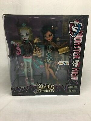 Monster High Scaris Toys R US exclusive 2 pack Lagoona & Cleo MIB