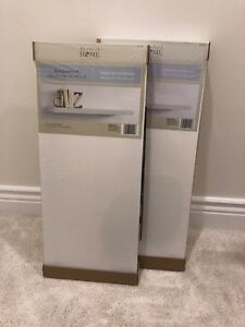 Two never been opened floating shelves