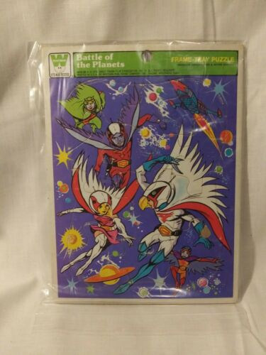 1979 Battle Of The Planets G-Force Gatchaman Frame Tray Puzzle Whitman 4512-2A  - $12.00