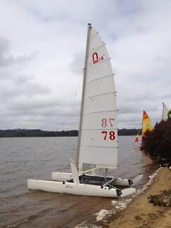 NACRA 14 sqm catamaran