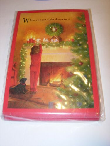 18 Christmas Cards & ENVELOPES RELIGIOUS DAYSPRING JESUS BLESSINGS HOLIDAY 5X7