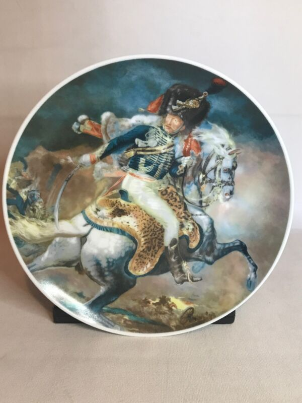 Lillian Murray Designers Plate Midevil Horse Sonoma California