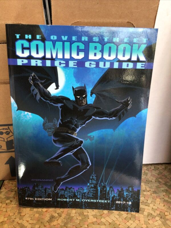 OVERSTREET COMIC BOOK PRICE GUIDE 47TH EDITION SC STERANKO COVER SC 2017-18