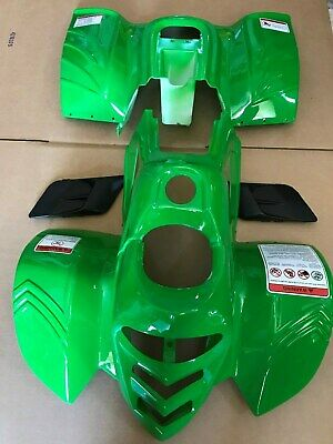 ATV Body Plastic Fender & vents for Taotao ATA-110B 110cc Pather painted Green (Paint Plastic Fenders)