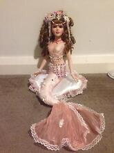 Vintage collectable porcelain doll - Millie the Mermaid Coogee Cockburn Area Preview