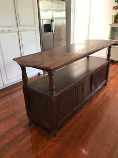 Vintage Buffet Sideboard Kitchen Island