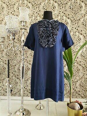 MARC by Marc Jacobs Kleid blau marine mit - Marine Kleid Blau