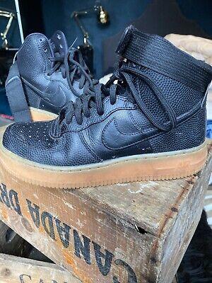 Ladies Black Nike Boots, Size UK 3