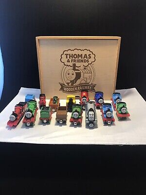 Mixed Lot Of 14 Thomas The Tank Engine & 2 Random Engines/Cars With Case