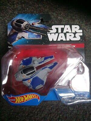 Hot Wheels Star Wars Vehicle Jedi Starfighter NEW SEALED. CGW65-BB30