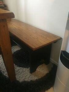 Kitchen table with bench