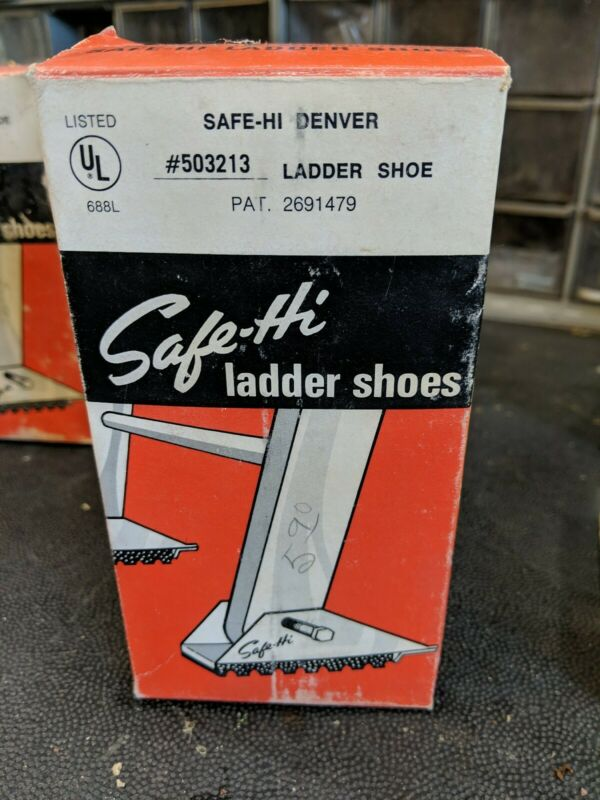 VINTAGE SAFE-HI SAFETY LADDER SHOES 503213